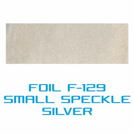 Lámina Foil F-129 SMALL SPECKLE SILVER - Vinilos y Serigrafía