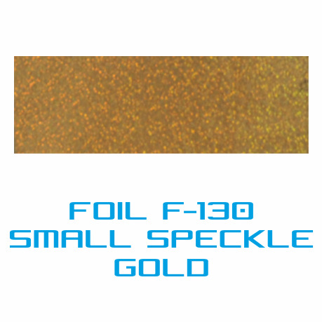 Lámina Foil F-130 SMALL SPECKLE GOLD - Vinilos y Serigrafía