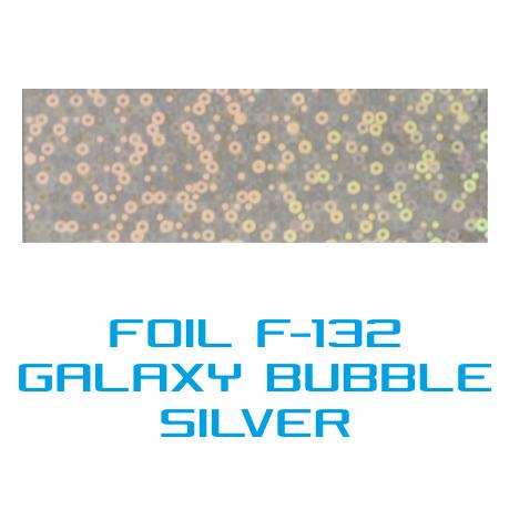 Lámina Foil F-132 GALAXY BUBBLE SILVER - Vinilos y Serigrafía