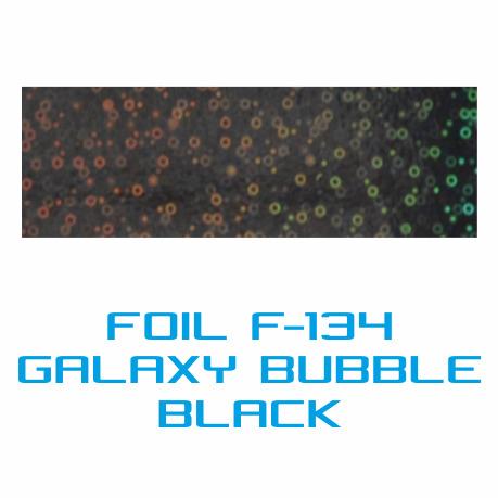 Lámina Foil F-134 GALAXY BUBBLE BLACK - Vinilos y Serigrafía