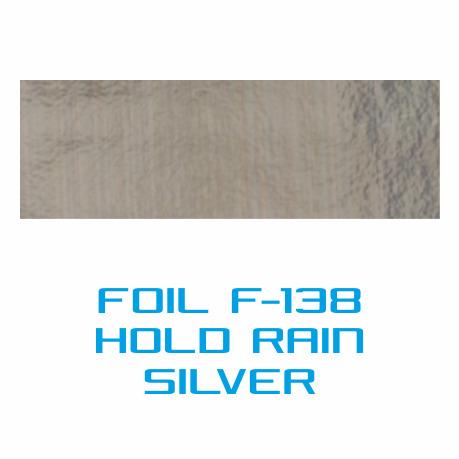 Lámina Foil F-138 HOLD RAIN SILVER - Vinilos y Serigrafía