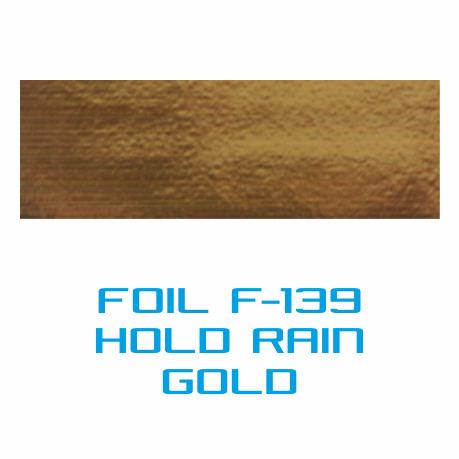 Lámina Foil F-139 HOLD RAIN GOLD - Vinilos y Serigrafía