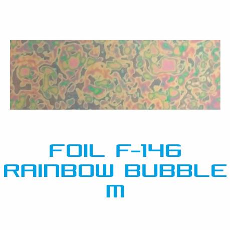 Lámina Foil F-146 RAINBOW BUBBLE M - Vinilos y Serigrafía