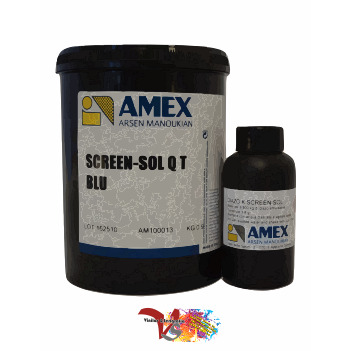 """Emulsión QT Blu """"Amex"""" - Vinilos y Serigrafía"""