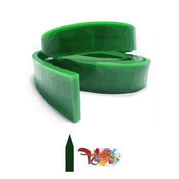 Goma Rasqueta Verde Perfil Lanza 100 cm - Vinilos y Serigrafía