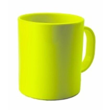Taza Verde Flúor Mug Sublimación Plástico - Vinilos y Serigrafía