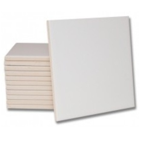 Azulejo 10 x 10 cm Blanco Brillo Sublimación - Vinilos y Serigrafía