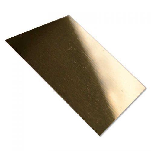 Placa Aluminio 30,5 x 61 cm Oro Espejo Sublimación - Vinilos y Serigrafía