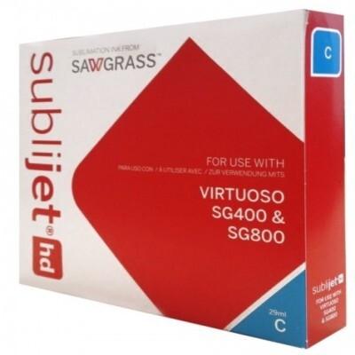 Cartucho Cyan Sublijet HD SG 400/SG800 - Vinilos y Serigrafía
