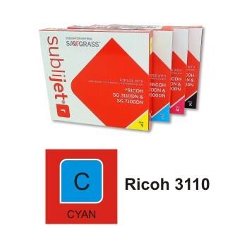 Cartucho Cyan Sublijet R Ricoh SG 3110/ SG 7100 - Vinilos y Serigrafía