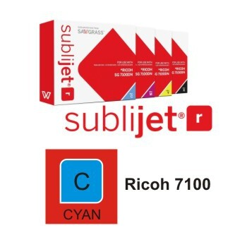 Cartucho Cyan Sublijet R Ricoh SG 7100 A3 - Vinilos y Serigrafía