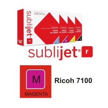 Cartucho Magenta Sublijet R Ricoh SG 7100 A3 - Vinilos y Serigrafía