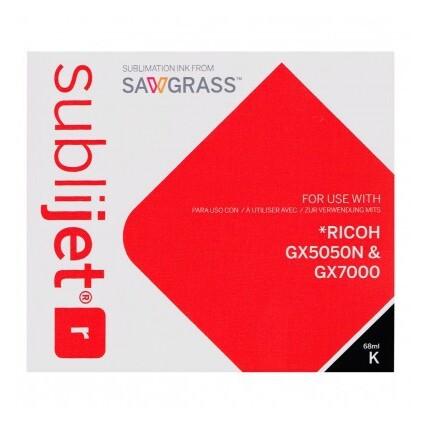 Cartucho Negro Ricoh GX 5050N / GX 7000 - Vinilos y Serigrafía