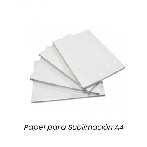 Papel Sublimación A4 - Vinilos y Serigrafía