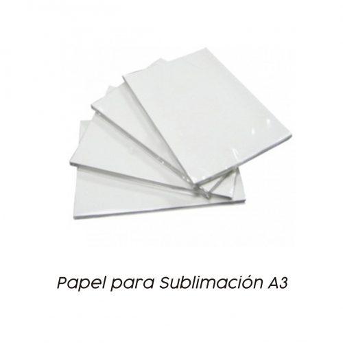 Papel Sublimación A3 - Vinilos y Serigrafía