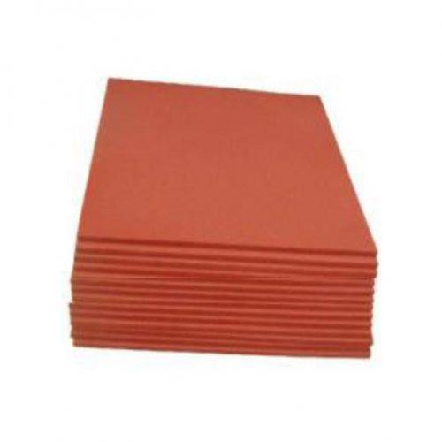 Almohadilla Silicona Roja 50 x 40 cm para Planchas