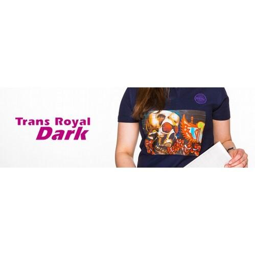 Trans Royal Dark Prenda Oscura A4 - Vinilos y Serigrafía