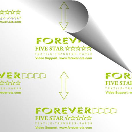 Forever Five Star Universal Prenda Clara A4 - Vinilos y Serigrafía