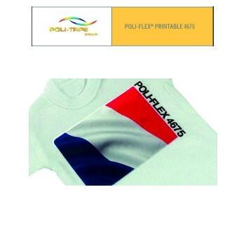 Poli-flex 4675 Blanco Satinado - Ancho 50 cm - Vinilos y Serigrafía