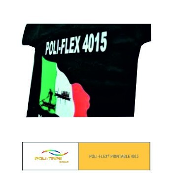 Poli-flex 4015 Blanco Satinado - Ancho 50 cm - Vinilos y Serigrafía