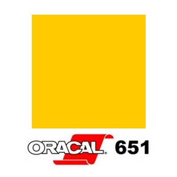 022 Amarillo Claro 651 - Ancho 63 cm - Vinilos y Serigrafía