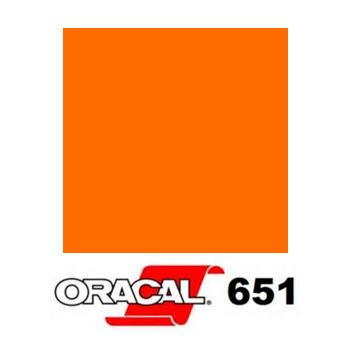 035 Naranja Pastel 651 - Ancho 63 cm - Vinilos y Serigrafía