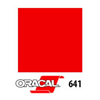 031 Rojo 641 - Ancho 63 cm - Vinilos y Serigrafía