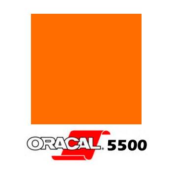 035 Naranja 5500 Reflect. - Ancho 122 cm - Vinilos y Serigrafía