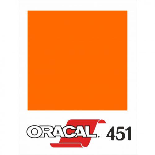 035 Naranja Pastel 451 Banner - Ancho 63 cm - Vinilos y Serigrafía