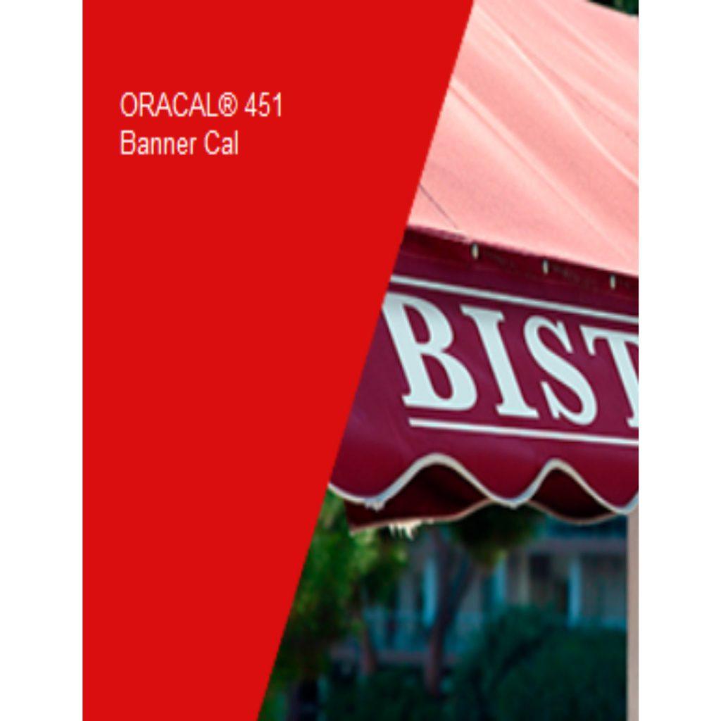 031 Rojo 451 Banner - Ancho 63 cm - Vinilos y Serigrafía