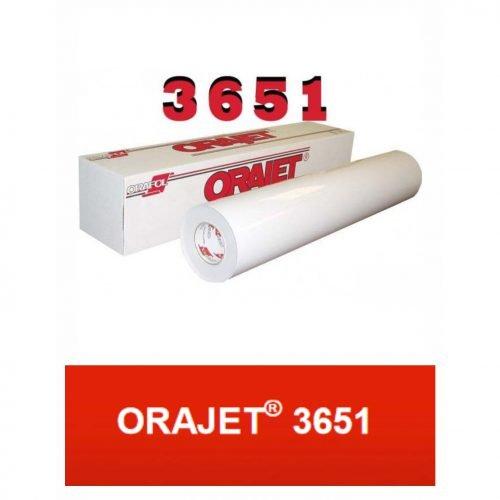 Orajet 3651 Mono C/T- (Ancho 137 cm) - Vinilos y Serigrafía