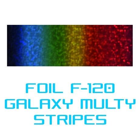 Lámina Foil F-120 GALAXY MULTI STRIPES - Vinilos y Serigrafía