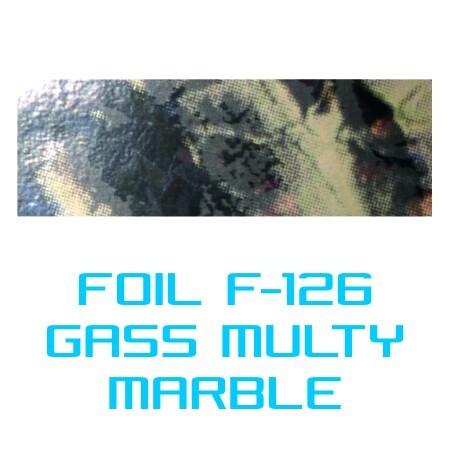 Lámina Foil F-126 GLASS MULTI MARBLE - Vinilos y Serigrafía