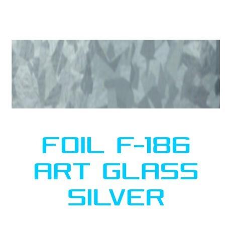 Lámina Foil F-186 ART GLASS SILVER - Vinilos y Serigrafía