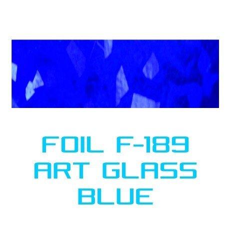Lámina Foil F-189 ART GLASS BLUE - Vinilos y Serigrafía