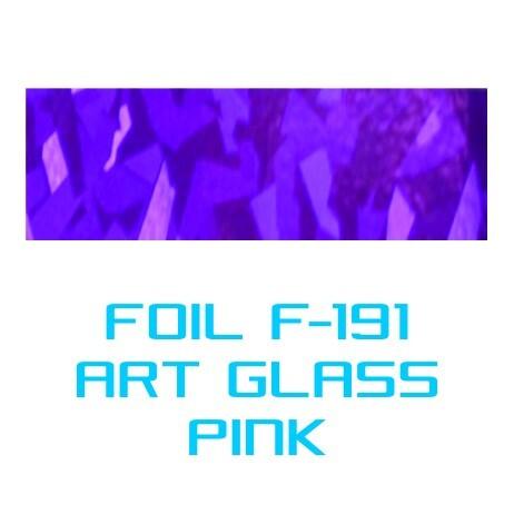 Lámina Foil F-191 ART GLASS PINK - Vinilos y Serigrafía