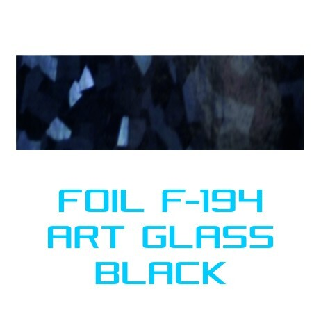 Lámina Foil F-194 ART GLASS BLACK - Vinilos y Serigrafía