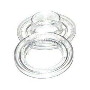 Ollado + Arandela Plástico 12 mm (1000 udes)