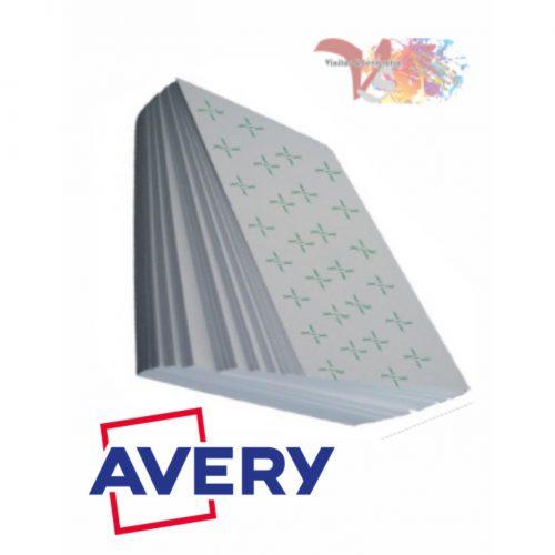 Hojas PVC AVERY Blanco - Vinilos y Serigrafía