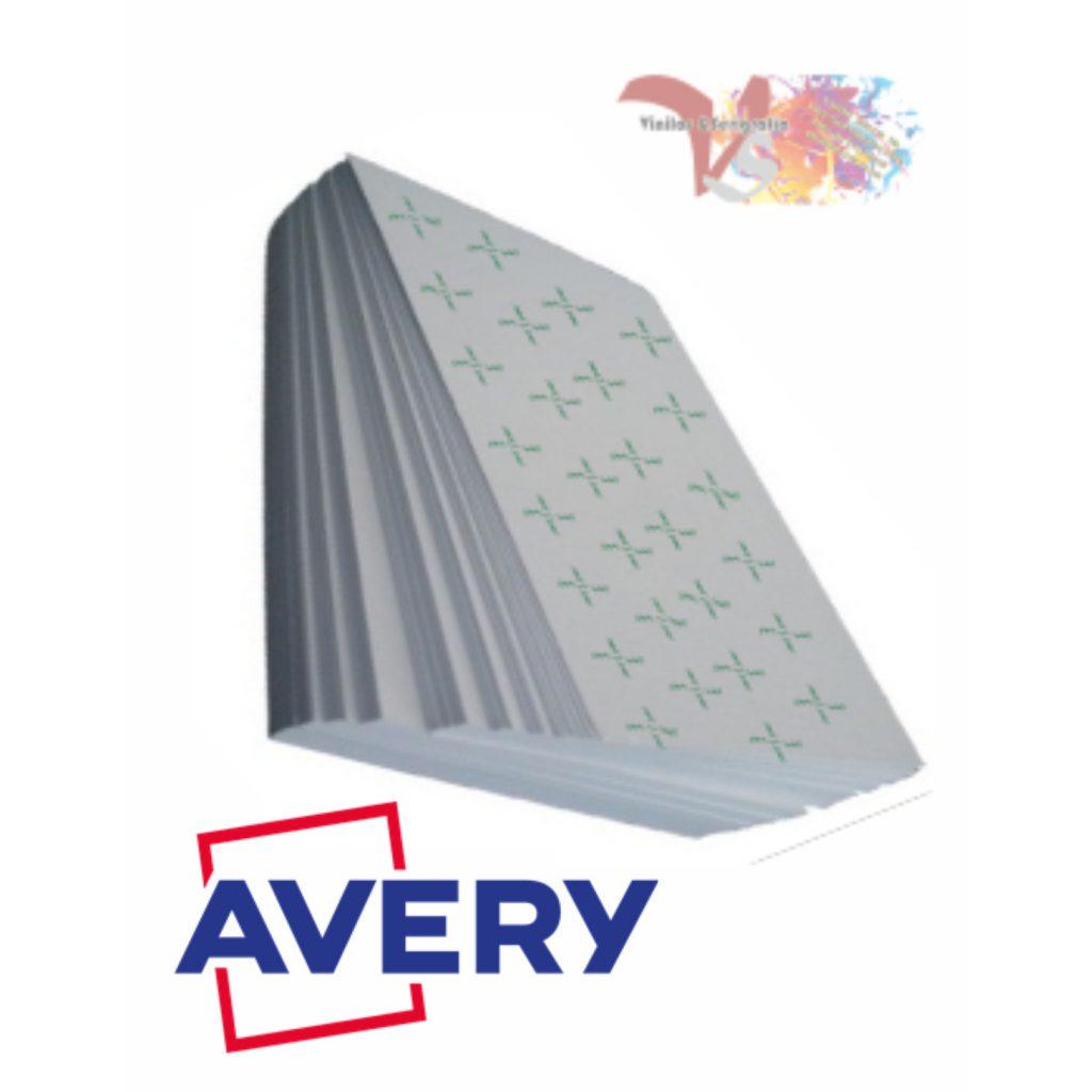 Hojas PVC AVERY Transparente - Vinilos y Serigrafía