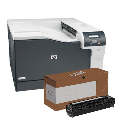 Pack HP - Laserjet CP5225 A3 + Tóner Blánco - Vinilos y Serigrafía