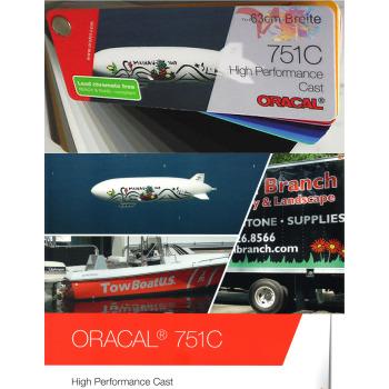 020 Amarillo Dorado 751C - Ancho 63 cm - Vinilos y Serigrafía