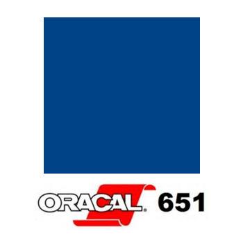 051 Azul Gentian 651 - Ancho 126 cm - Vinilos y Serigrafía