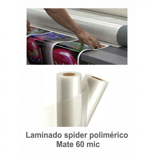 Laminado Poly Spider Mate (P) 60 mic. (Ancho 1.37 m)