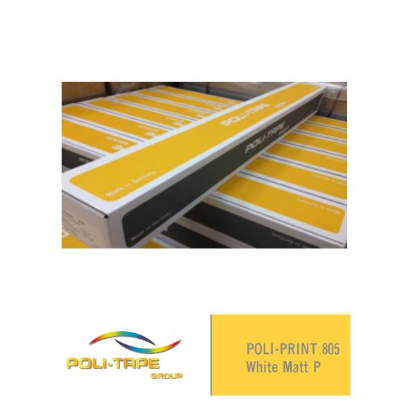 POLI-PRINT 805 Monomérico Blanco Mate P (Ancho 105 cm) (m/l)