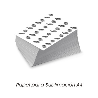 Papel Sublimación Vinilos y Serigrafía A4 - Vinilos y Serigrafía