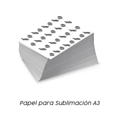 Papel Sublimación Vinilos y Serigrafía A3 - Vinilos y Serigrafía