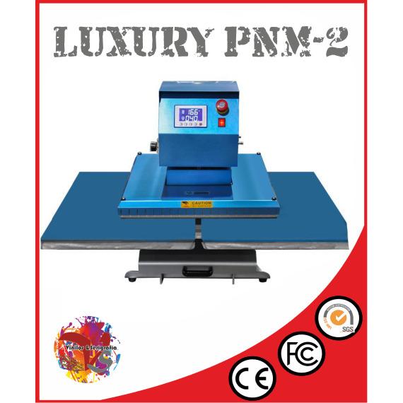 Plancha Camisetas Neumática Luxury PNM -2 - Vinilos y Serigrafía
