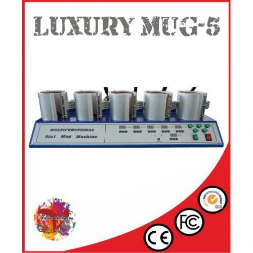 Plancha 5 Tazas Luxury MUG-5 - Vinilos y Serigrafía