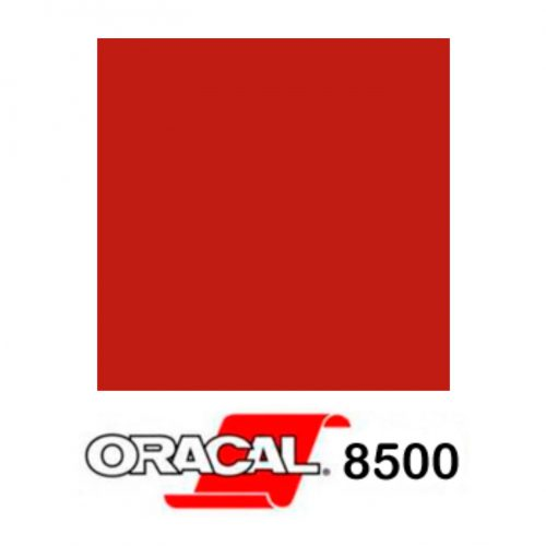 031 Rojo 8500 - Ancho 126 cm (m/l) - Vinilos y Serigrafía